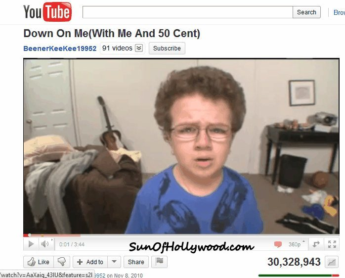 Keenan Cahill is Ca-Killin the YouTube game