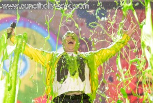 Jack Black needs to change his name to Joe Green... Slimed !!