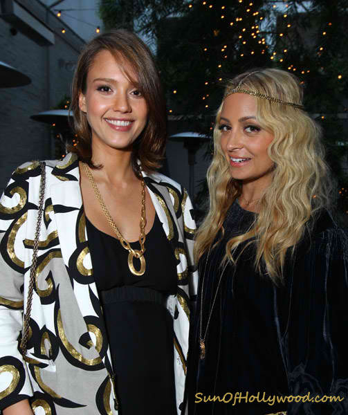 Jessica Alba and Nicole Richie will soon both be mothers of two