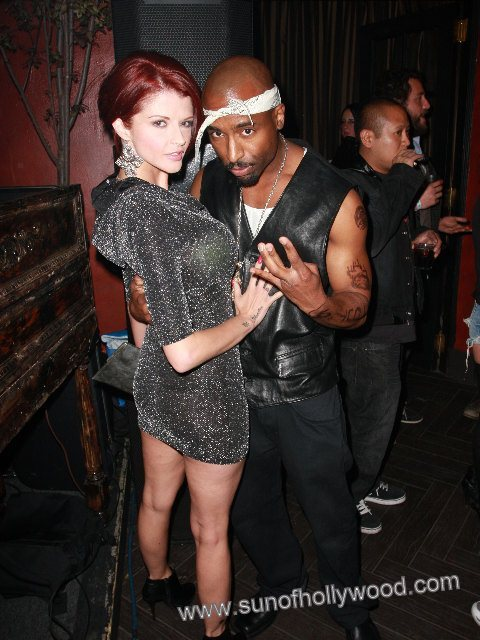 Exclusive: Does Josh Harraway Have What It Takes To Be 2Pac2 ?? Joslyn James Seems To Think So