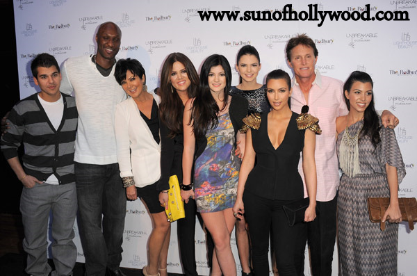 Kardashians and Jenners and Odoms... Oh my !