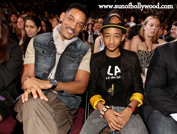 Will and Jaden Smith... Father And Son On And Off Camera