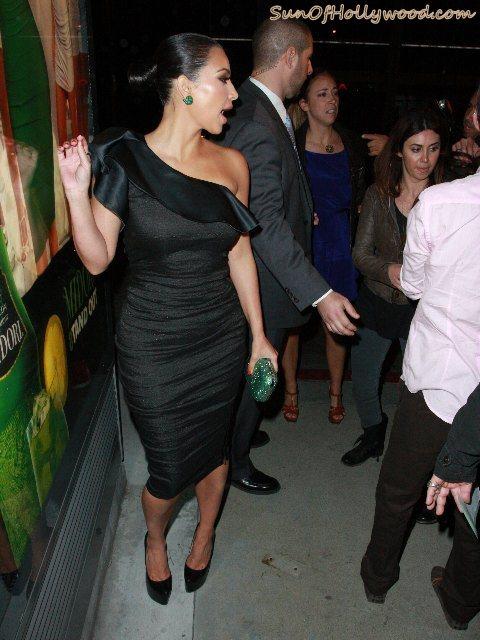 Kim Kardashian Likes To Pose While Touching Herself