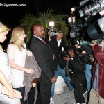 "Mister Mason Helps Paris Hilton Fend Off The Infamous Paparazzi ""Wall Of Intrusion"""