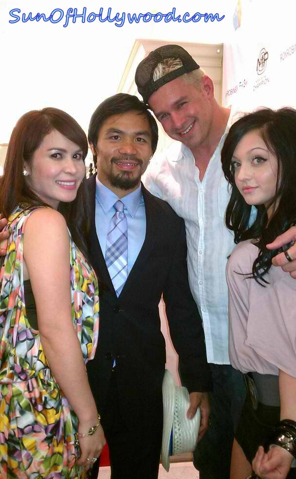 Manny Pacquiao... Daniel Puder and your wife still want you to win  :)