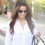 A Tony Parker Free Eva Longoria Feels Just Like Her Hair... Light As A Feather... Flowing In The Wind