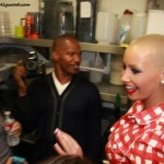 Jamie Foxx and daughter Corrine, showing love for their Rose... Amber Rose