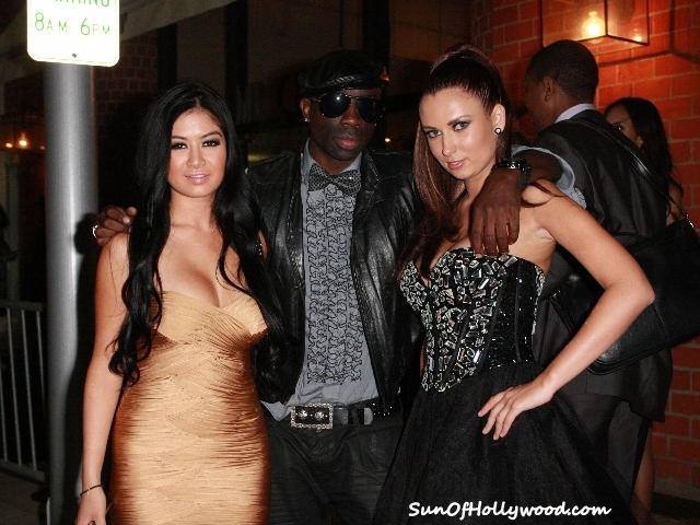 Sam Sarpong, Katrina Chubarova and Kim Lee... The Creme Of The Crop's Hottest Commodities