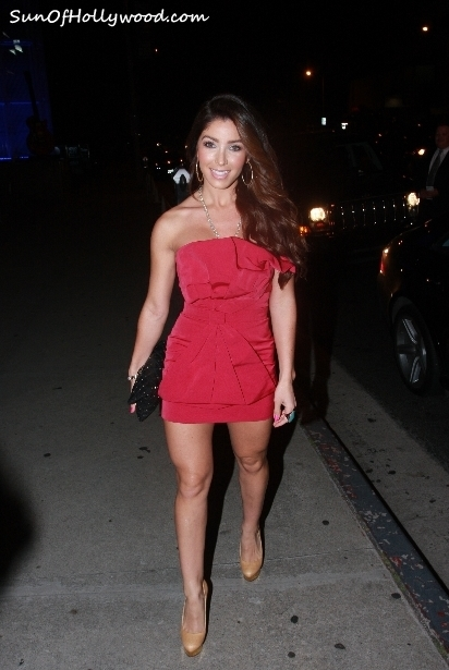 Melissa Molinaro Celebrates Her Birthday With Special Guest Reggie Bush