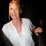 Nicolette Sheridan, Just One Month Ago... Lookin A Whole Lot Saucier
