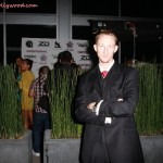 Eric Zuley Outside Of Cafe Entourage For Sam Sarpong's Launch Of His GSus Clothing Line