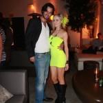 Derek Pratt and Paula Labaredas