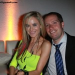 Paula Labaredas with WME Agent Roger Grain