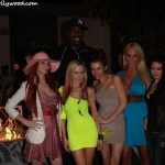 John Salley, Phoebe Price, Paula Labaredas, Alicia Ann Marie Arden, Mary Carey and Vicki Lizzie... One Big Pappy Family