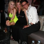 Paula Labaredas, singer Taylor Dayne and the dude responsible for Paula's Do... Robert Moran