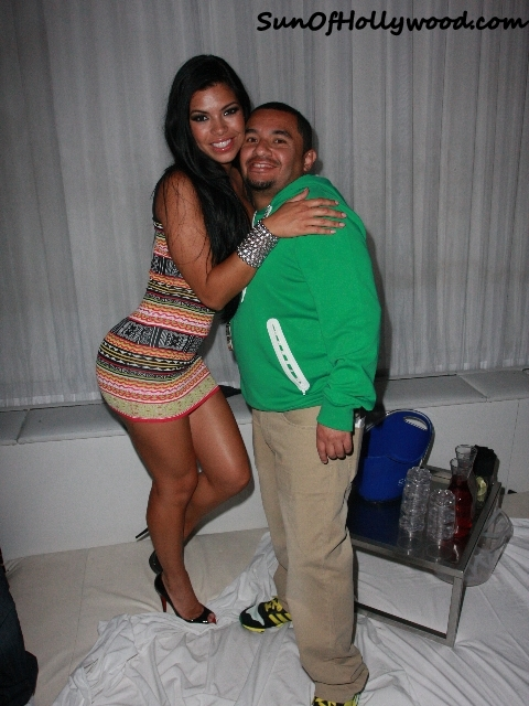 SueLyn Medeiros with my Man, Johnny Cruz, Hollywood Club Promoter Extraordinaire