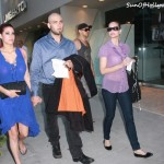 Looks Like Christina Fulton Is Working Hard At Keeping Family Together... Seen with Weston Cage and Nikki Williams in Beverly Hills On July 18th, 2011