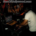 Apl.De.Ap of the Black Eyed Peas,, Behind the 1's and 2's for the ladies of the Philipines