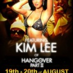 Party With Kim Lee At The Palladium In The New World Hotel In Makati City, August 19th and 20th (if you're in the Philipines)