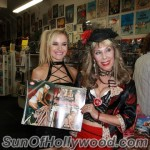 "Paula Labaredas and Dr. Susan Block with the July Issue of ""Girls And Corpses"" and Paula's Sexy Nurse Photo Shoot"