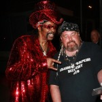 Bishop Don Magic Juan likes his Baphomet in Red Sequins