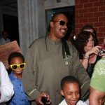 "Stevie Wonder And His Boyz Navigate Through ""Hurricane Stevie"""