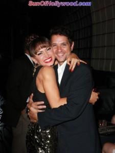 Karina Smirnoff and last season's partner, Ralph Macchio.. The Karate Kid... All Growd'z Up