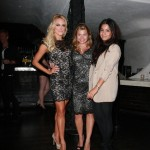 Peta Murgatroyd, Dana Wilkey and Fashion Designer Donna Mizani