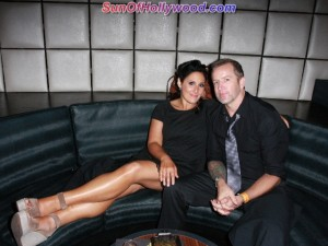 Ricki Lake and recently engaged Fiance, Christian Evans