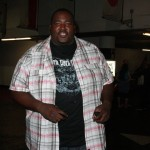 Sandra Bullocks protege from The Blind Side, Quinton Aaron