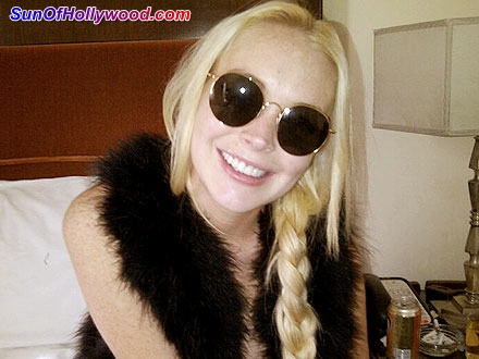Lindsay Lohan displays her New And Improved Smokin Hot Grill