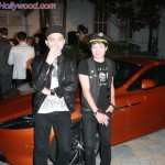 Deryck Whibley and His Homey on a Bada$$ton Marton