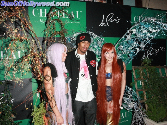 Lately, Nick Cannon seems to be surrounded by Twin Angels
