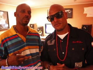 Cavie And DMX... In The Studio Doing What They Do Best