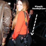 Khloe Shows Off A Klassik Kardashian Backside, while picking up the Hobby of Papping on her Own