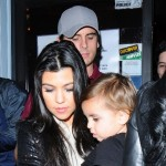 "Kourtney, Mason and Scott ""Dixukkin"" Disick"