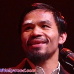 "Manny Pacquiao Is All Smiles Over The Judges Good Decisions... So He Shared The Stage With ""Bad Decisions"""