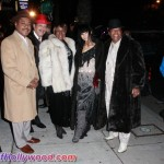 The Amazing Platters and Bai-Ling From L to R: Thomas Turner, Eddie Daniels, LeNona Walton, Bai-Ling and Bernard Walton