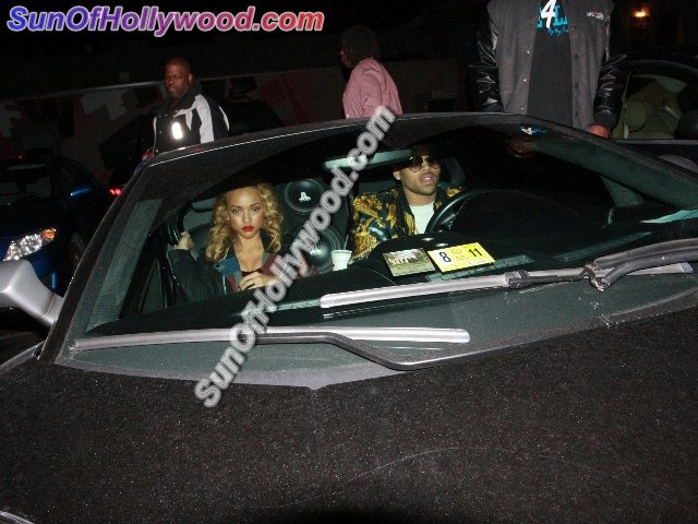 His Name Is Chris Breezy, Drivin Off In A Lamborghini With His Non-Rihanna Breezy