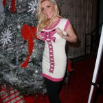 Could You Imagine Finding Crystal Harris Under Your Tree On Christmas Morning ?