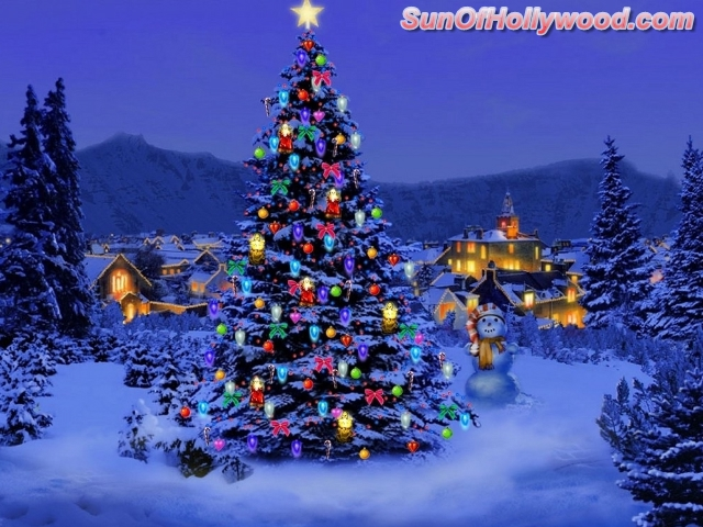 Merry Christmas From SunOfHollywood.com