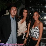 Lee V. Ho with Fly Girls Nicole Williams and Tammy Tran
