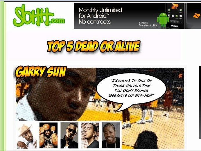 "SOHH.com And Garry ""Prophecy"" Sun Discuss My Top 5 Dead Or Alive... Excluding The Hall Of Famers"