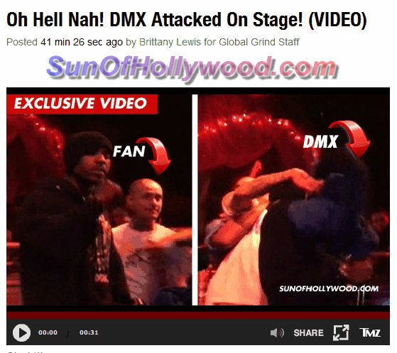 SunOfHollywood Brings The World To Global Grind As Well... And Every Other Damn Blog Out There Talkin Bout DMX Right Now