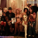 L to R: Dr. Suzy Producer Tasia Sutor, Robert Steven Rhine a.k.a. Corpsy, Dr. Susan Block, Bonnie Rotten, Sasha Knox and The Captain