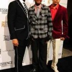The 3 Gents Lookin' Dapper As Fu@k At The 3rd Annual ESSENCE Black Women In Music Event