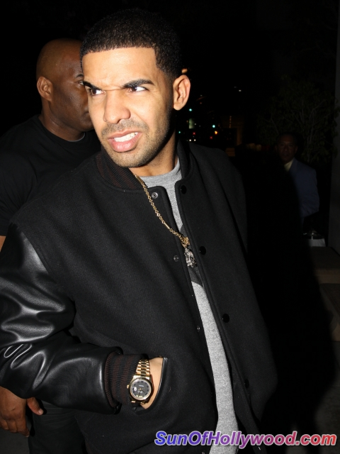 Eyewitnesses Say Drake Threw The First Full Throttle Bottle