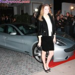Domingo Zapato invited a few works of art... including the Fisker Karma and Mischa bARTon