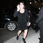 Renee Graziano.  Just 5 feet from gettin popped by the popo, for a possibly illegal lefty