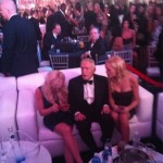 Some Things Never Change... Like Hugh Hefner Being The Man Meat (Viagra Required) In A Blonde Sandwich